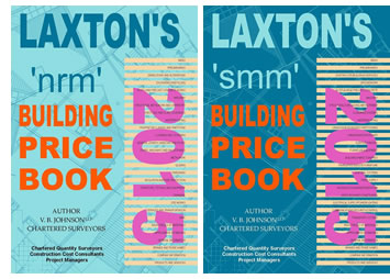 Laxtons building price books 2015